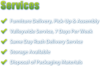 Furniture Delivery Services in Scottsdale